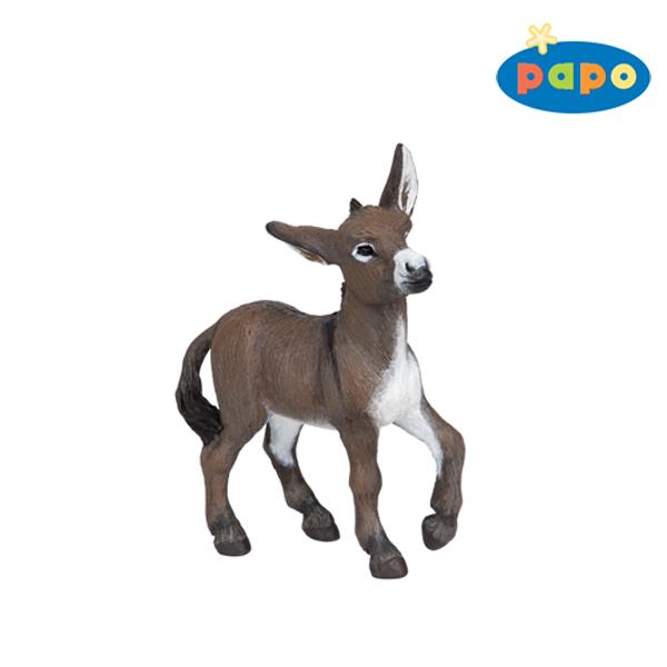 Papo 51054 Esel der Provence 11 cm Bauernhoftiere