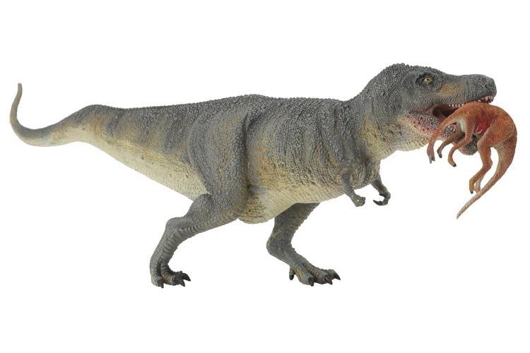 collecta 88573 tyrannosaurus rex mit beute im maul 24 cm