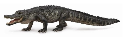 Collecta 88609 Amerikanischer Alligator 18 cm Wildtiere