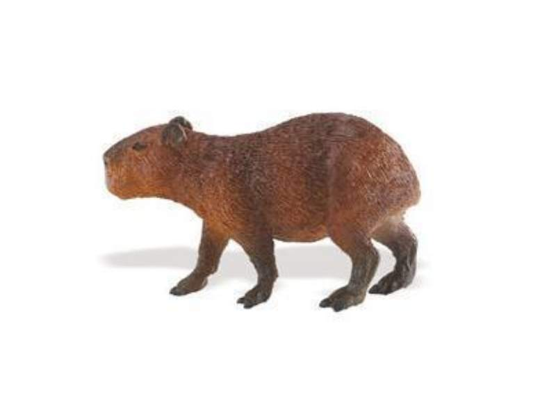 Safari Ltd 227629 Capybara 8 cm Serie Wildtiere