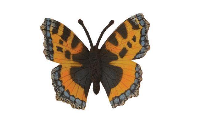 collecta 88387 kleiner fuchs schmetterling 7 cm insekten. Black Bedroom Furniture Sets. Home Design Ideas