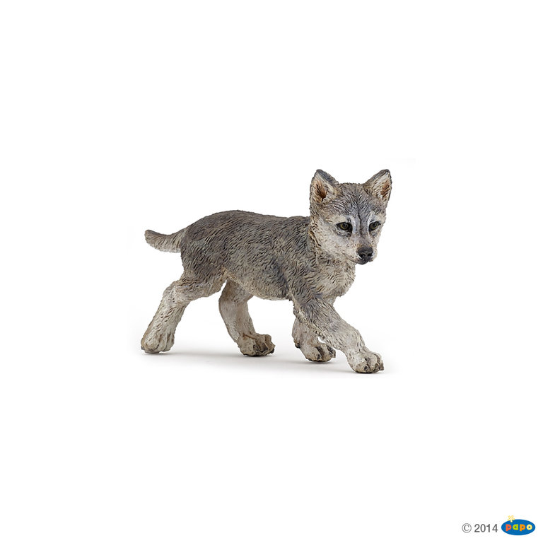 Papo 50162 Wolfjunges 6 cm Wildtiere