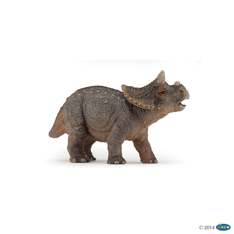 Papo 55036 Triceratops Baby 10 cm Dinosaurier
