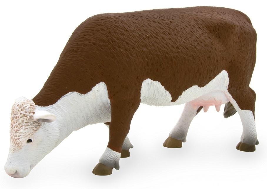 Holstein-Kalb liegend 6 cm Bauernhof Mojo 387082