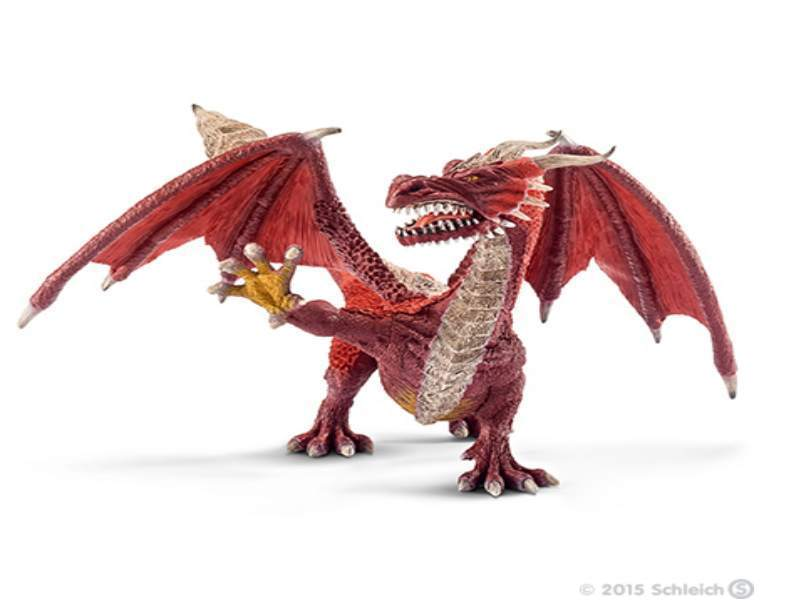 Schleich 70512 Drache Krieger 14 cm Serie World of Fantasy