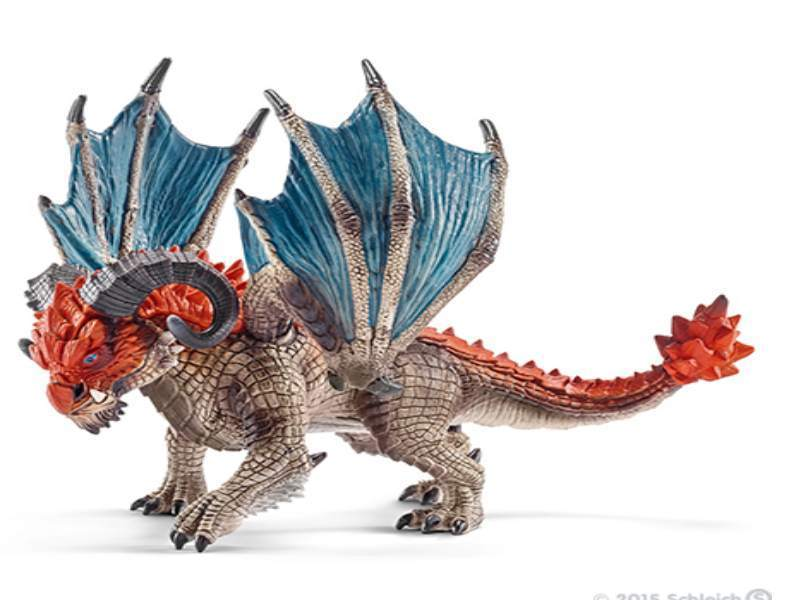 Schleich 70511 Drache Rammbock 14 cm Serie World of Fantasy