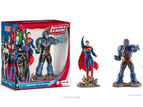 Schleich 22509 Scenery Pack Superman vs Darkseid Serie Fantasy