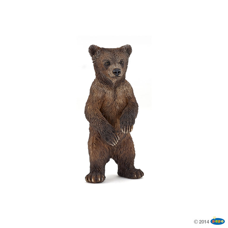 Papo 50163 Grizzlyjunges 7 cm Wildtiere