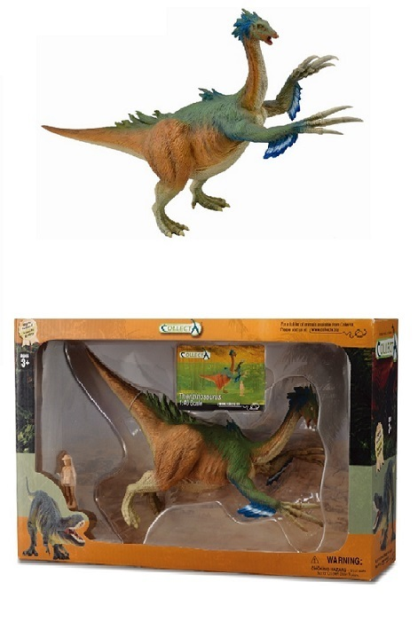Collecta 89684 Therizinosaurus Deluxe 1:40 Dinosaurier Geschenkbox