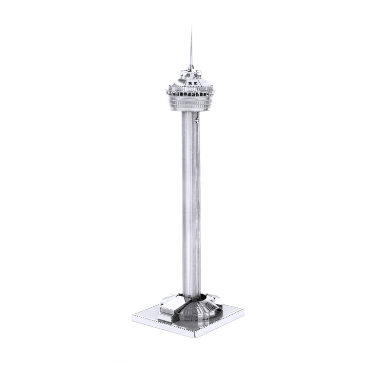 Metal Earth 1060 Tower of the Americas 3D-Metall-Bausatz Silver-Edition
