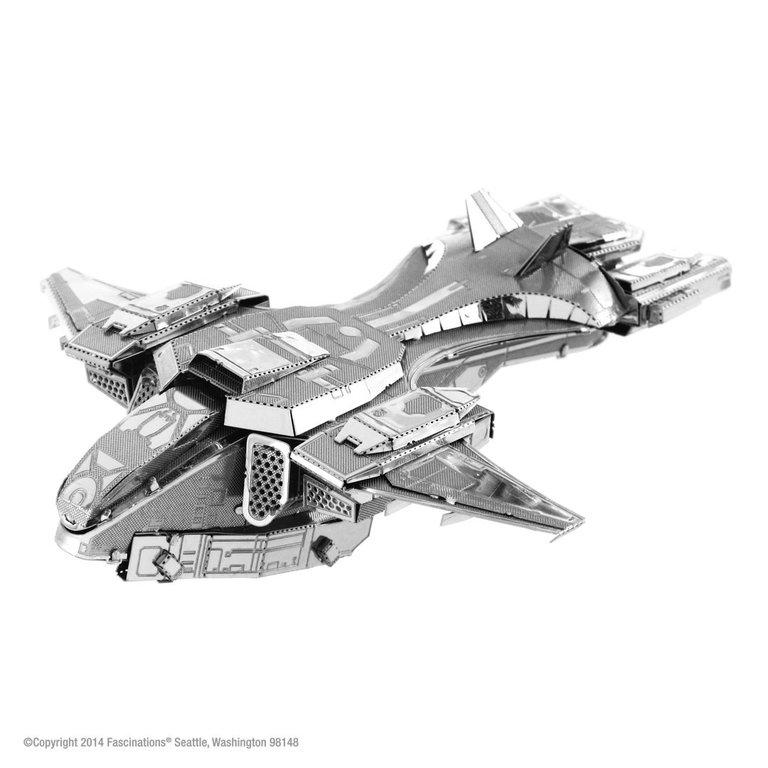 Metal Earth 1292 UNSC Pelican HALO 3D-Metall-Bausatz