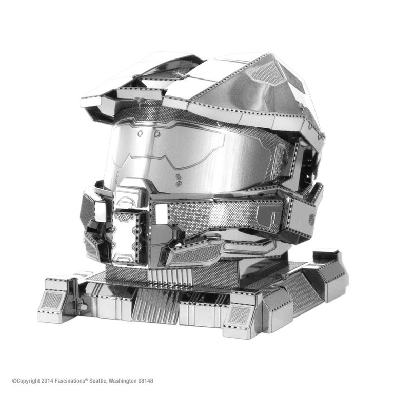 Master Chief Helmet HALO 3D-Metall-Bausatz Metal Earth 1290