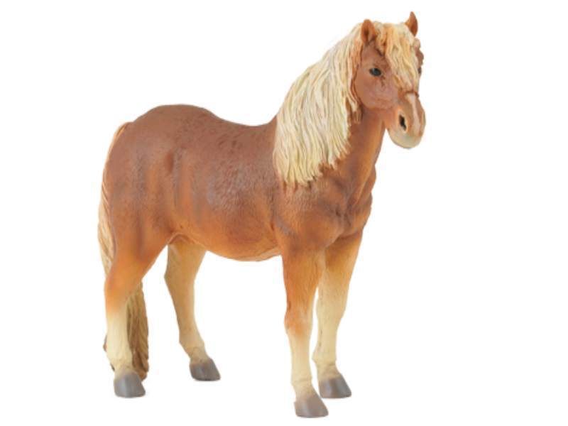 Collecta 88362 Dartmoor Pony Chestnut 11 cm Pferdewelt