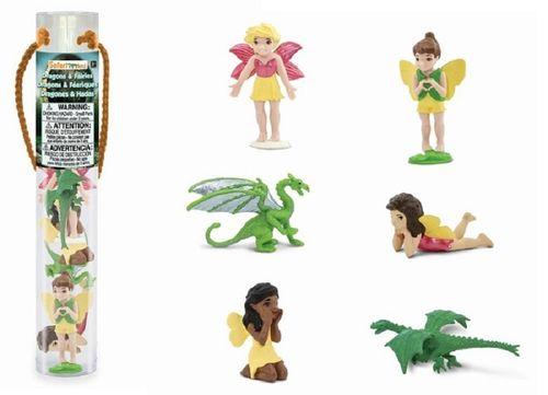 Serie Tubos-Röhren Safari Ltd 688804 8 Minifiguren Muscheln der Meere