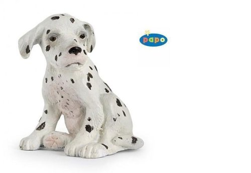 Papo 54022 Dalmatian young sitting (dog) 4 cm Farm