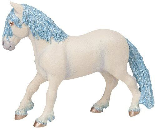 Papo 38827 elf pony (blue) 13 cm Fairy Tales