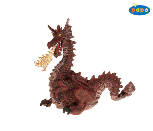 Papo 39016 fire-breathing dragon (red) 12 cm Fairy Tales