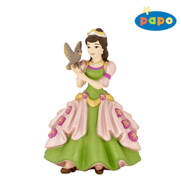 Papo 39062 princess with bird 9 cm Fairy Tales