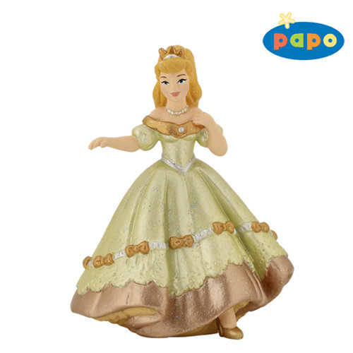 Papo 39061 dancing princess (green) 9 cm Fairy Tales