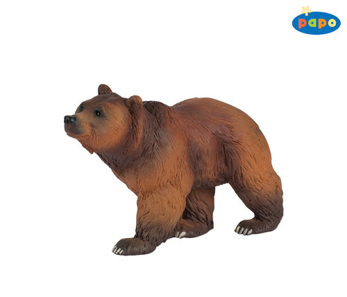Papo 50032 brown bear 11 cm Wild Animals