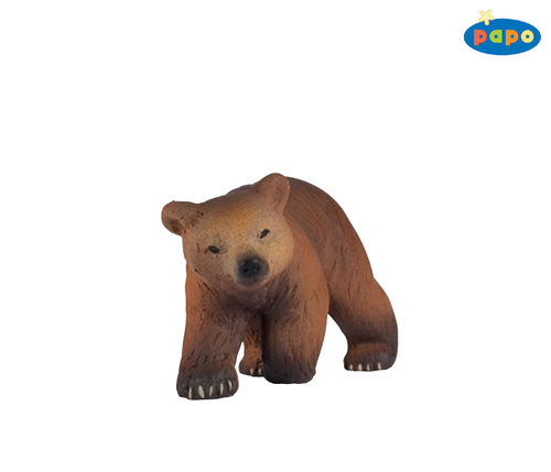 Papo 50031 brown bear young 6 cm Wild Animals