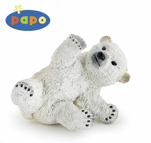 Papo 50143 polar bear young (playing) 5 cm Wild Animals