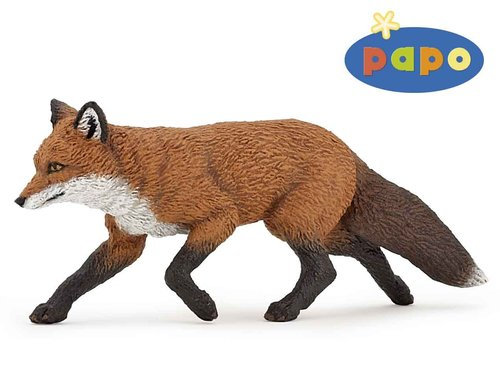 Papo 53020 fox 9 cm Wild Animals