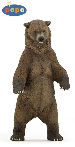 Papo 50153 grizzly bear 12 cm Wild Animals
