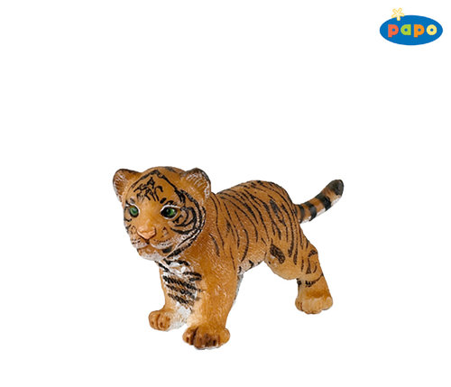 Papo 50021 tiger young 6 cm Wild Animals