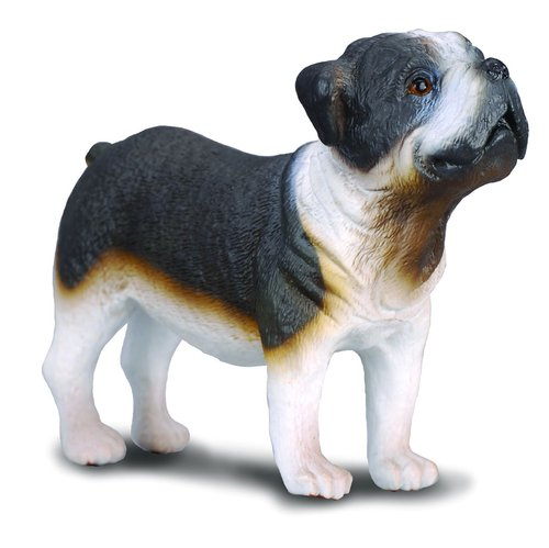 Collecta 88179 bulldog 7 cm Dogs and Cats