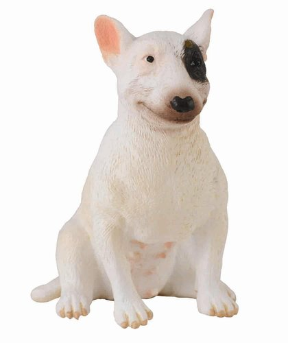 Collecta 88385 bull terrier - female 6 cm Dogs and Cats