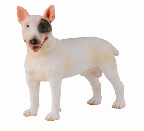 Collecta 88384 bull terrier - male 8 cm Dogs and Cats