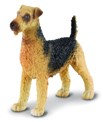 Collecta 88175 Airedale Terrier 8 cm Dogs and Cats