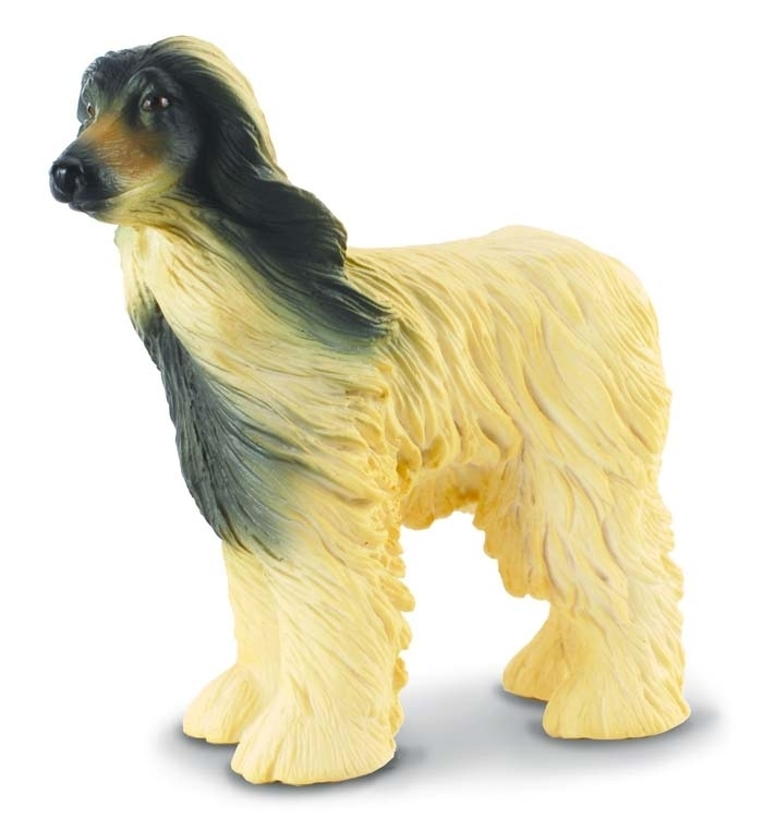 Collecta 88173 afghan hound 8 cm Dogs and Cats