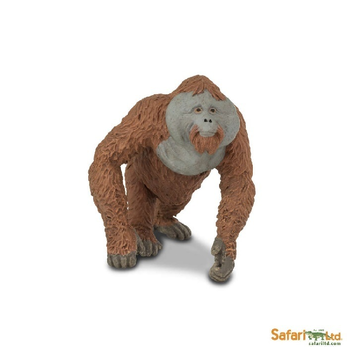 Safari Ltd 292929 Orang-Utan male 10 cm Series Wild Animals