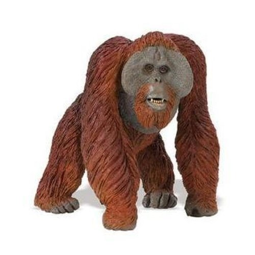 Safari Ltd 112289 Orang-Utan 12 cm Serie Wildtiere