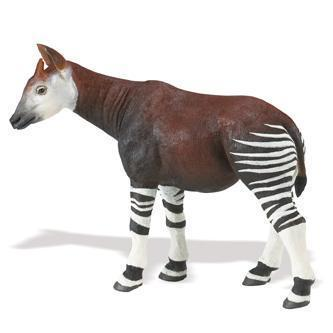 Safari Ltd 112429 Okapi 18 cm Serie Wildtiere