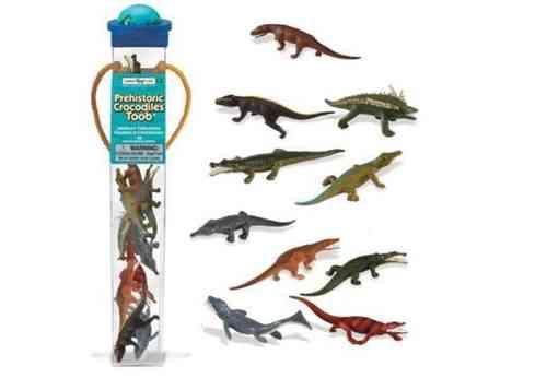 Série Domaine Safari Ltd 695704 16 Minifiguren Reptiles