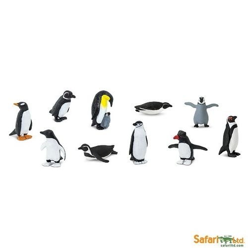 Safari Ltd 761904B Pinguine (10 Minifiguren)