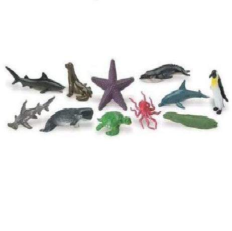Safari Ltd 761104 Meerestiere Im Meer (12 Minifiguren)