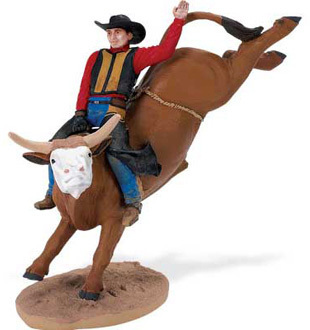 Safari Ltd 820529 Rodeo Bill 14 cm Serie Menschen