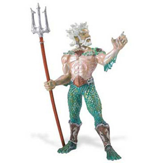 Safari Ltd 801029 Poseidon 12,5 cm Serie Mythologie