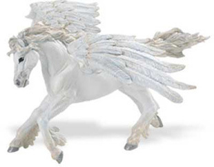Safari Ltd 800729 Pegasus 21 cm Serie Mythologie