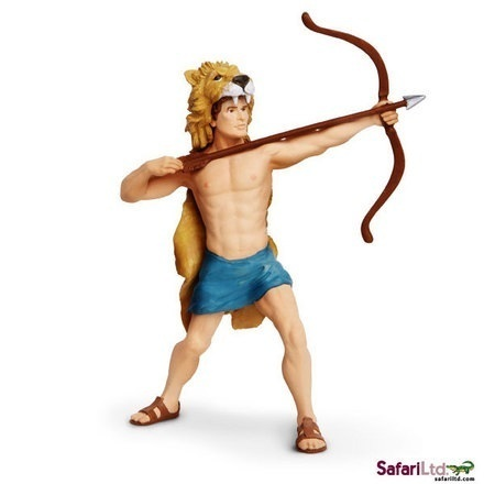 Safari Ltd 802229 Hercules 12 cm Serie Mythologie