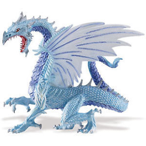 Safari Ltd 10145 Eisdrache 13 cm Serie Mythologie