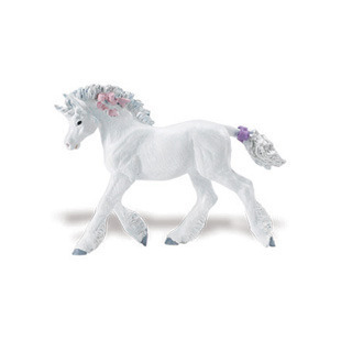 Safari Ltd 801729 Einhorn Baby 8 cm Serie Mythologie