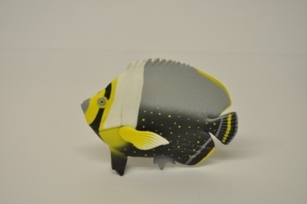 Maia and Borges 17003 Pearl Butterflyfish 8 cm series tropical fish