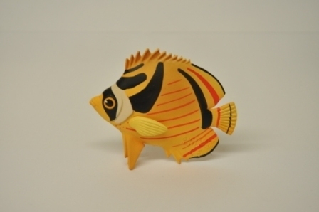 Maia and Borges 17006 Crescent Moon Butterflyfish 8 cm series tropical fish