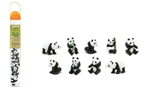 6 minifiguren Dragon set 2 série domaine safari Ltd 685704