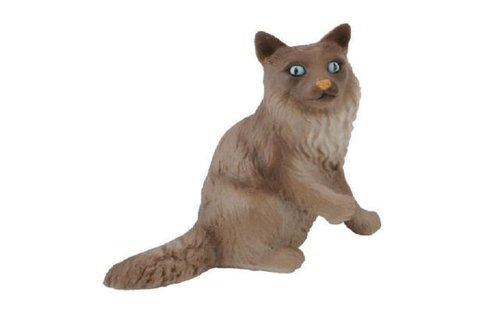 Collecta 88321 burmese cat sitting 5 cm Dogs and Cats